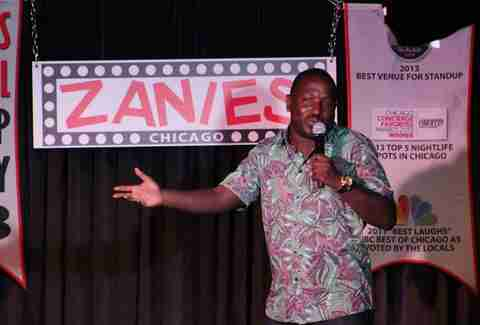 Zanies Comedy Club Chicago