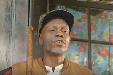 dave chappelle as clayton bigsby on chappelle's show