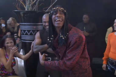 dave chappelle as rick james on chappelle's show