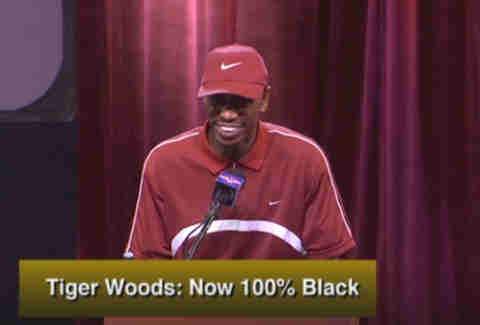 dave chappelle as tiger woods on chappelle's show