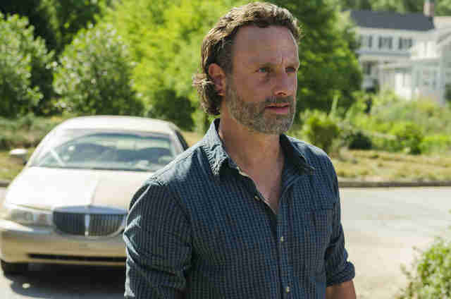 the walking dead recap service rick