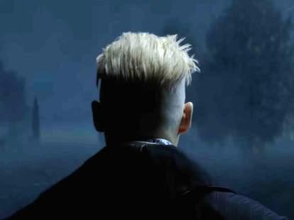 johnny depp as Gellert Grindelwald fantastic beasts