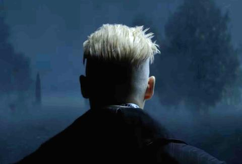 johnny depp as Gellert Grindelwald fantastic beasts