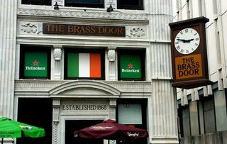 The Brass Door