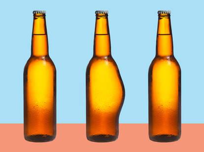 beer bottle beer belly