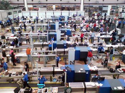 TSA robots