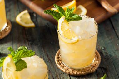 Muddled fruit cocktail