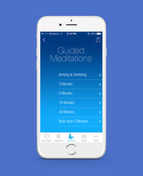 the mindfullness app for iPhone