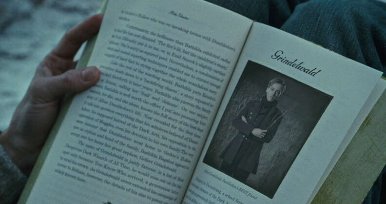 Grindelwald Deathly Hallows Part 1