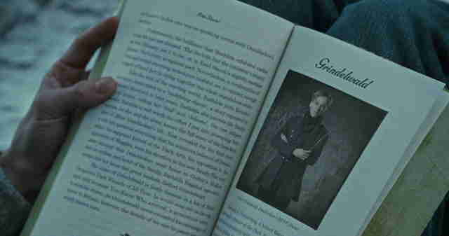 Grindelwald Deathly Hallows Part 1