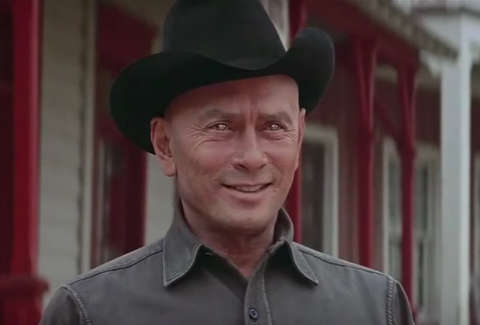 yul brynner in westworld movie
