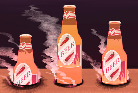Spicy beers