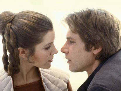 carrie fisher harrison ford star wars affair
