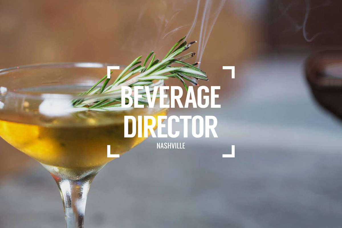 Beverage Director: Where to Drink in Nashville Right Now