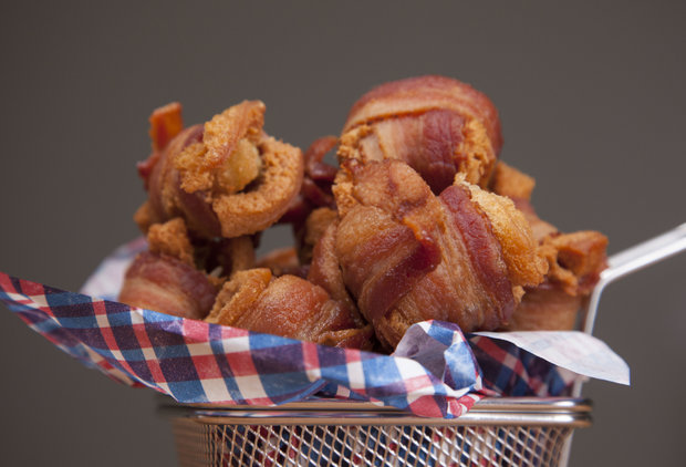 Channel Your Inner Elvis With These Peanut Butter Banana Bacon Bites