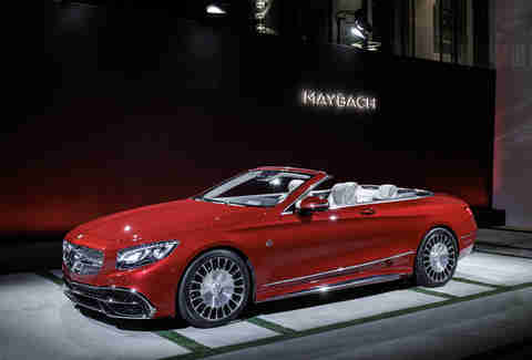 Mercedes Maybach 650 S Cabriolet