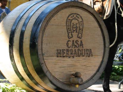 Herradura Tequila Barrel
