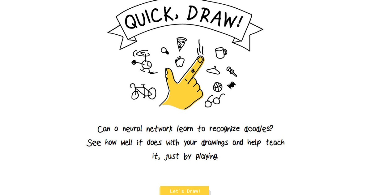 93 Neural Network Drawing Games Quick Draw Google Quick Draw Is A