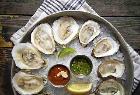 Coast oysters