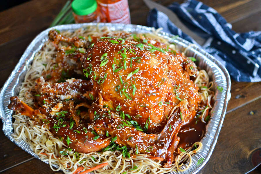 This General Tso's Turkey Is the Only Way to Make Turkey Not Suck