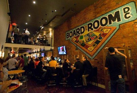 The Board Room A Washington Dc Dc Bar