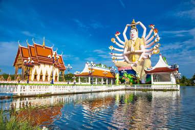 Wat Plai Laem temple