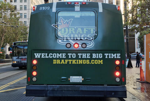 draftkings bus