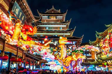 Lantern Festival in Shanghai