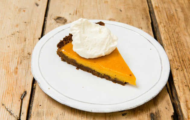 This Pumpkin Tart With Ginger Snap Crust Will Make You Forget About Pie