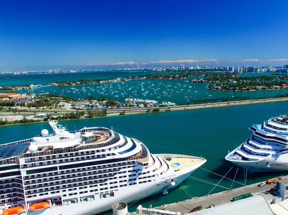 Crusie ship Miami