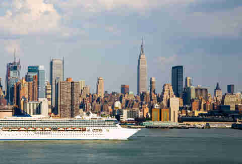 Cruise Ship New York