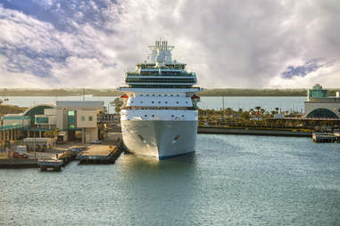 Port Canaveral cruise ship
