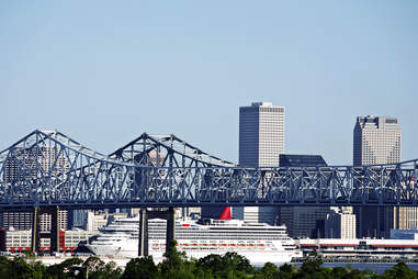 Cruise ship New Orleans