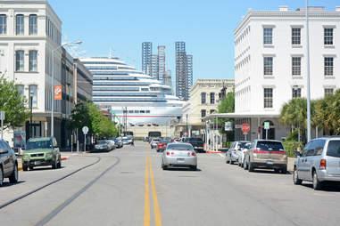 Cruise ship Galveston