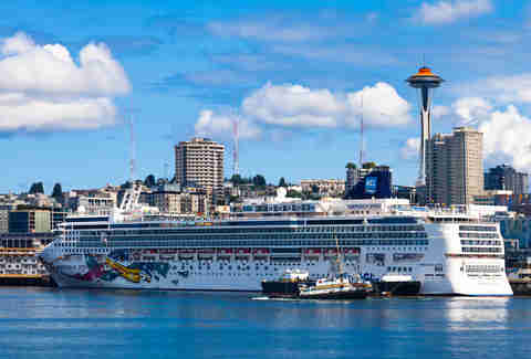 Seattle cruise ship