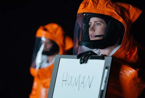 Arrival Amy Adams White Board