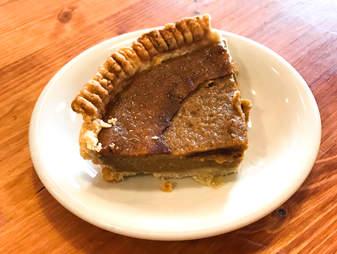 Sweet Potato pie at Half Peach