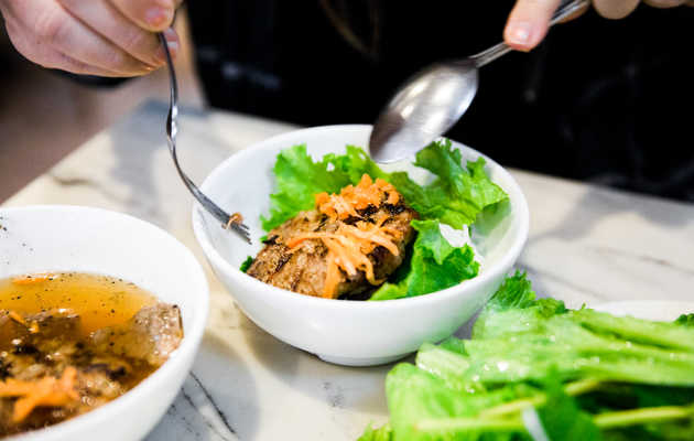 The Best Thing We Ate for Under $10 This Week: Pho Bang's $9.75 Bun Cha Ha Noi