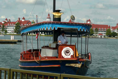 Disney World boat ride