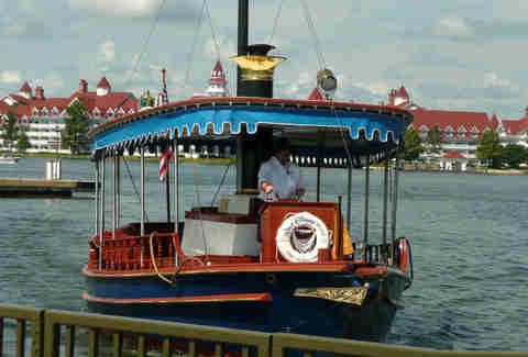 Disney World boat ride
