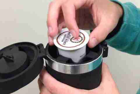 Brew K-Cups Anywhere With This Ingenious Thermos