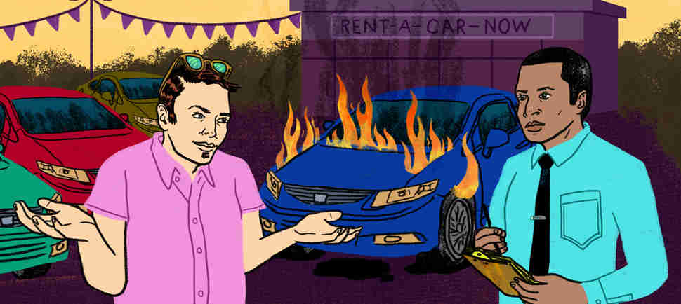 The Gross and Bizarre Stuff People Do in Rental Cars