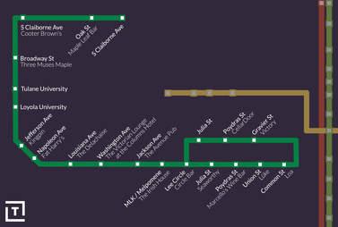 Dark Green line
