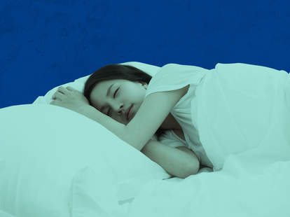 sleeping like a baby without drugs