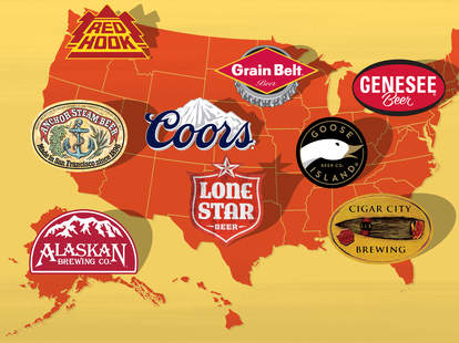 Iconic American Beers - Coors - Sam Adams - Anchor Steam