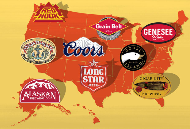 The Most Iconic Beer From Every State