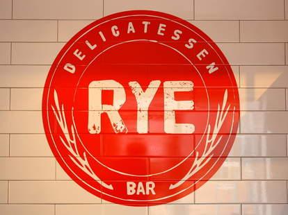 Rye Delicatessen & Bar Sign
