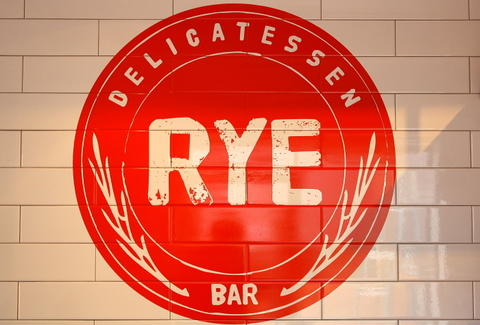 Rye Delicatessen & Bar Sign