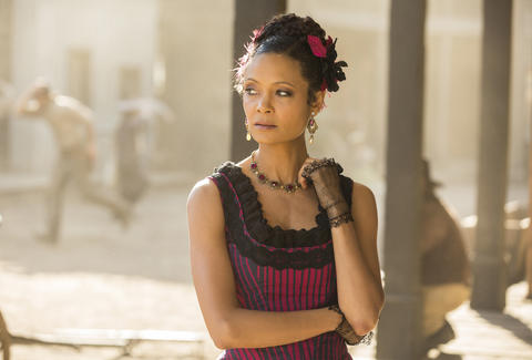 maeve, thandie newton, westworld