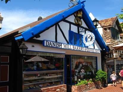Danish Mill Bakery california Solvang